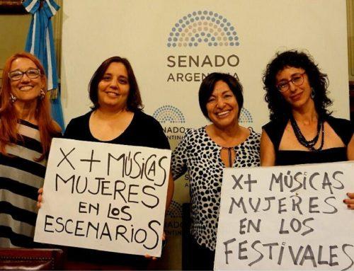 El Senado aprobó la Ley de cupo femenino en festivales musicales