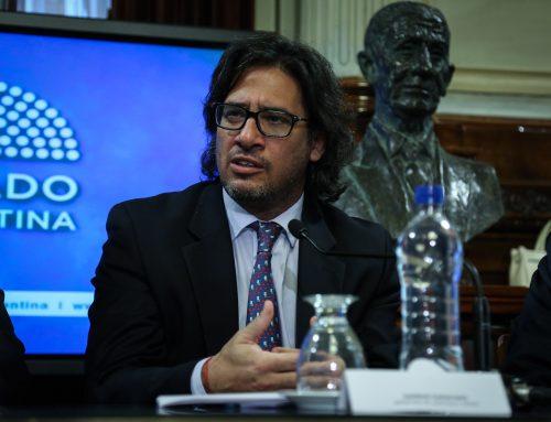 Garavano presenta el proyecto de Reforma Penal en el Senado