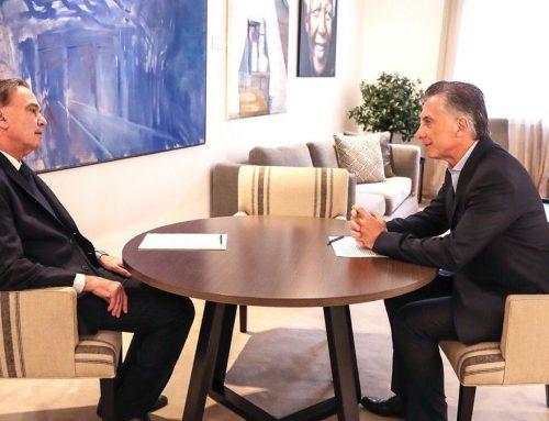 Presidente Macri también recibió a Pichetto en la Rosada y conversaron sobre «los puntos del acuerdo»