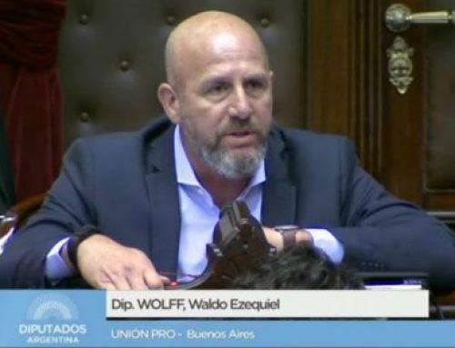 Waldo Wolff: «Como legisladores tenemos la obligación de buscar generar herramientas que den mayor seguridad jurídica»