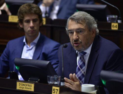 """D`Onofrio: """"Vidal fracasó en la lucha contra el narcotráfico"""""""