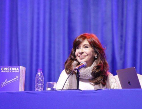 CFK: «Nosotros tenemos que ponerles un corte a estos que vienen a endeudarnos»