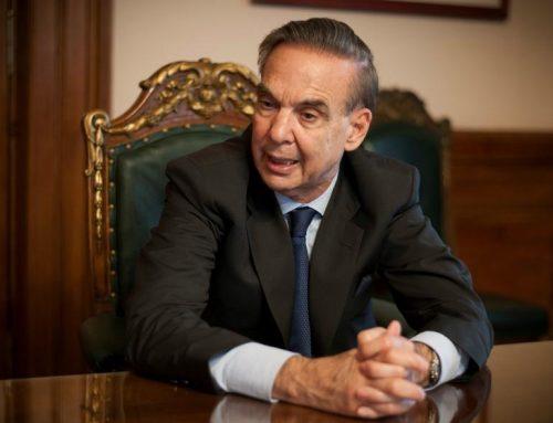Pichetto en campaña: prometió que se va a «recuperar el poder adquisitivo» de los salarios