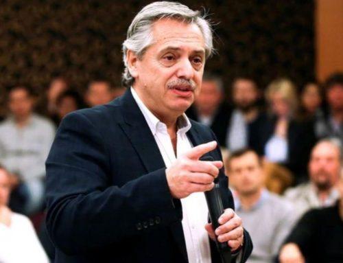 Alberto Fernández dijo que no habrá corte de boletas en provincia de Buenos Aires