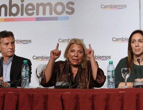 Carrió consideró que las PASO serán una primera encuesta nacional