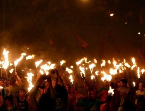 La Marcha de las Antorchas por Evita es Patrimonio Histórico Cultural de la Ciudad
