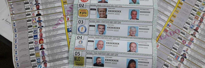 Aprobaron la Boleta Unica de Papel para las elecciones de intendente de San Luis
