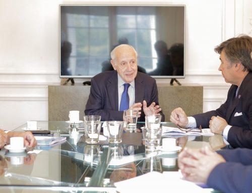 Lavagna recibió a la mesa de enlace y se comprometió a mantener un diálogo permanente con el campo