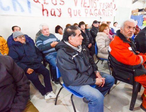 La Legislatura de Santa Cruz pide a Nación un pago suspendido y adeudado a jubilados de YCRT
