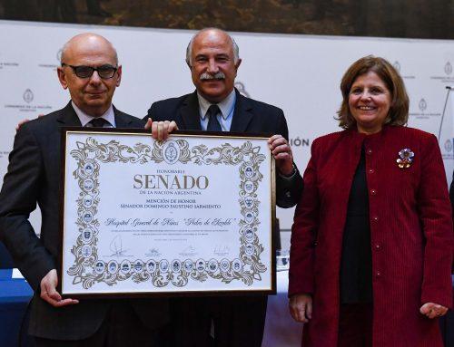 Senado otorgó el premio Sarmiento al Hospital de Niños Pedro de Elizalde