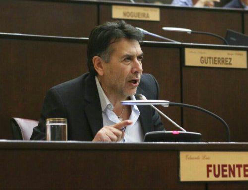 Para Fuentes, Crexell debería reemplazar a Quiroga para garantizar la ley de paridad de género en los cuerpos legislativos.
