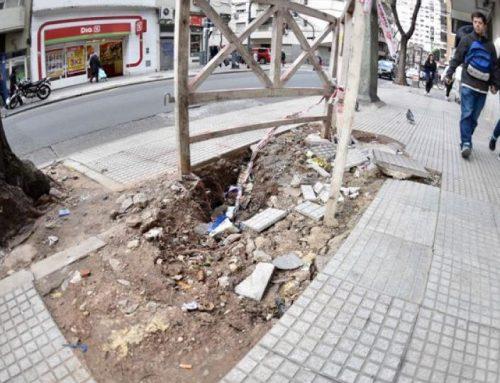 Legislatura: Aprueban multas de más de $ 400.000 por aperturas o roturas en calles y veredas