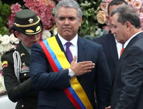 La fiebre chilena llegó a Colombia y presionan a Duque para que entregue el poder