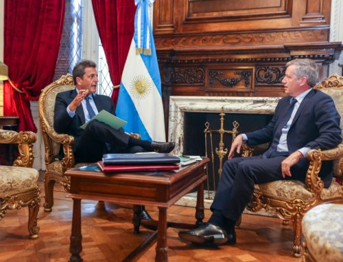 Massa y Monzó abrieron formalmente la transición en Diputados