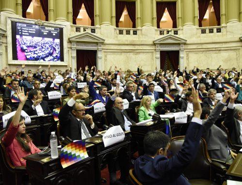 Senadores y Diputados sancionaron repudio al «Golpe de Estado» en Bolivia a mano alzada