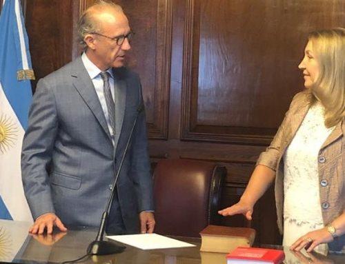 Silvia Giacoppo juro como miembro del Consejo de la Magistratura