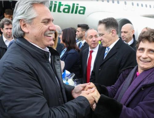 Alberto Fernández llegó a Israel para participar del Foro Internacional del Holocausto