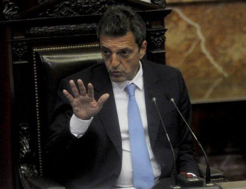 Sergio Massa recibió en el Congreso a intendentes de la provincia de Corrientes