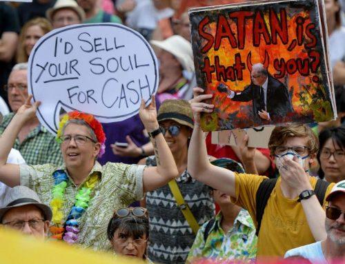 Miles de personas protestan en Australia contra la política medioambiental del Gobierno ante los virulentos incendios