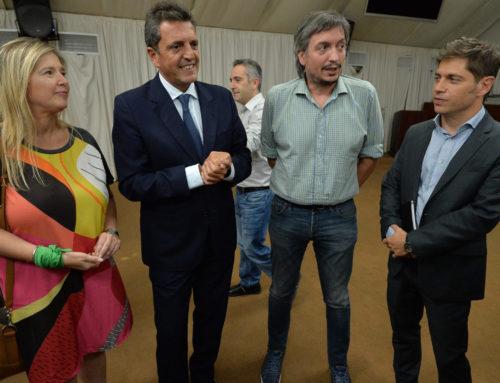 VIDEO – Kicillof recibió en La Plata a legisladores nacionales