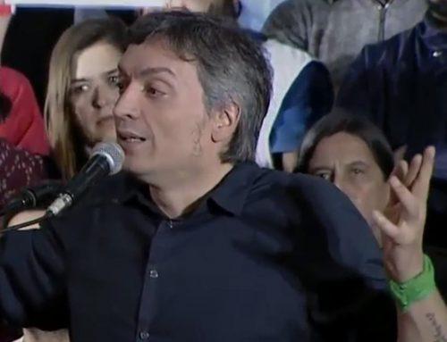 Máximo Kirchner al FMI: «Háganse cargo que financiaron la campaña de Macri»