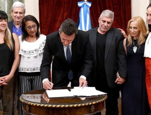 Se firmó el traspaso del Poder Ejecutivo al Congreso del Observatorio de Víctimas de Delitos