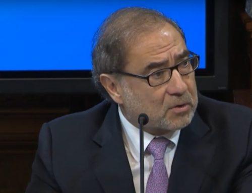 Jorge Arguello: «La idea es unificar en la embajada cada uno de los frentes en la agenda por la Deuda»