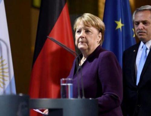 Merkel afirma que Argentina debe contar con ayudadeEuropa ante su difícil situación económica
