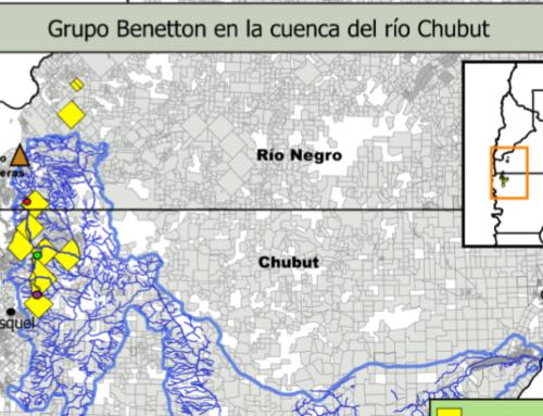 RIO NEGRO – Pilcaniyeu padece falta de agua potable debido al uso exclusivo en beneficio del grupo Benetton