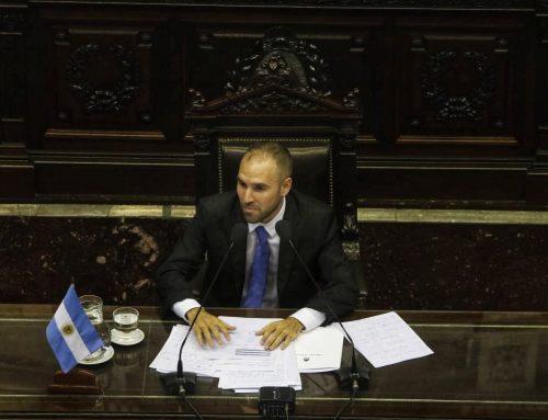 """Guzmán: """"No vamos a permitir que fondos de inversión extranjeros marquen la pauta de la política argentina"""""""