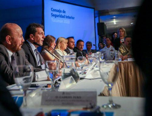 Una delegación del Congreso Nacional participó del consejo de seguridad interior en Tucumán