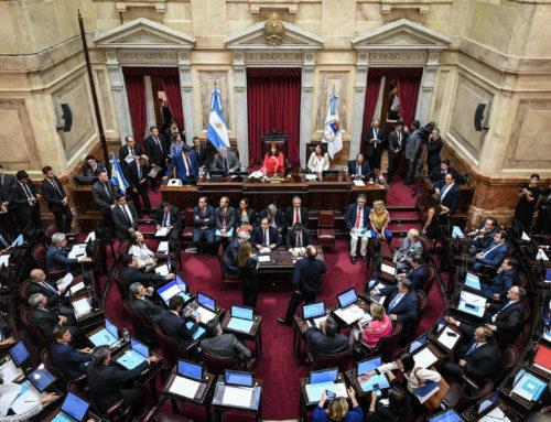 Con amplio apoyo, el Frente de Todos consiguió la sanción de la Ley de Gondolas