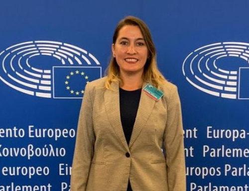 """Matzen: «Fuimos a llevar el pañuelazo argentino al corazón del Parlamento Europeo"""""""