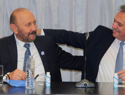 Desde Formosa, Alberto Fernandez tildó de «idea loca» el proyecto para quedarse con acciones de las empresas
