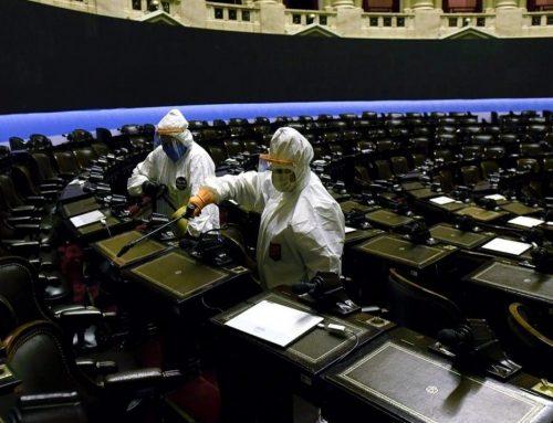 Diputados desinfectó «todos los lugares donde estuvieron los legisladores» el jueves durante la sesión