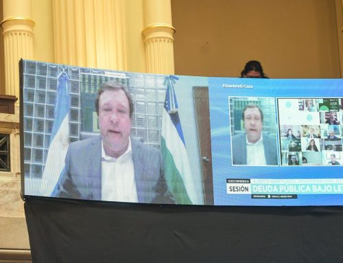 Weretilneck: «Argentina necesita cerrar la negociación de la deuda para no perder lo logrado»
