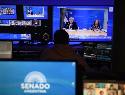 Filmus expuso sobre Malvinas en Senado: «Planteamos crear una comisión que alabore estrategias a largo plazo»