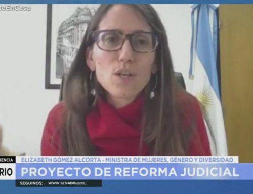 Gómez Alcorta: «Hay que despatriarcalizar una organización judicial que históricamente fue conducida y operada por varones»