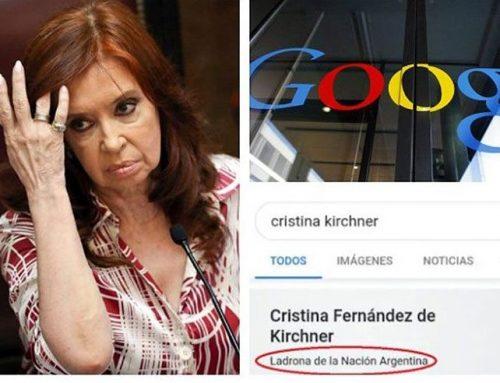 Cristina Fernández notificó a Google sobre un fallo a favor de producir prueba anticipada