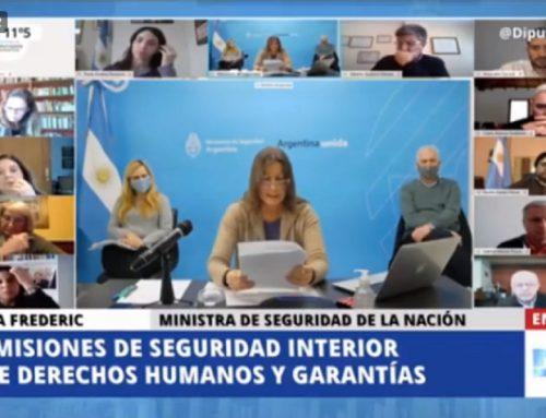 Frederic y Pietragalla exponen ante Diputados en medio de denuncias de desaparición forzada de personas durante su gestión