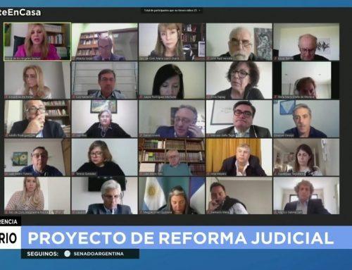 El proyecto de reforma judicial sumó varias objeciones en la segunda audiencia de la cámara alta