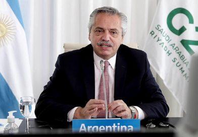 Alberto Fernández ante el G20: «Estamos ante un verdadero cambio de época»