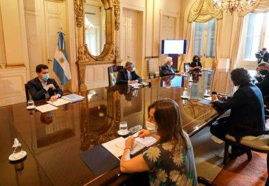 El Presidente recibió al comité para planificar la vacunación contra el coronavirus