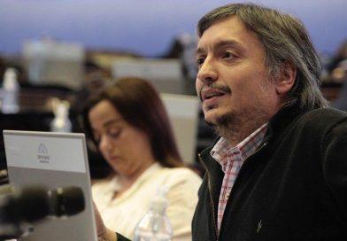 Máximo Kirchner obtuvo de AFIP un plan de pagos a 96 cuotas y tendrá 8 años para pagar su deuda