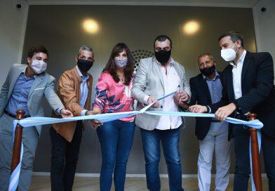 Se inauguró un nuevo acceso al anexo Alfredo Palacios
