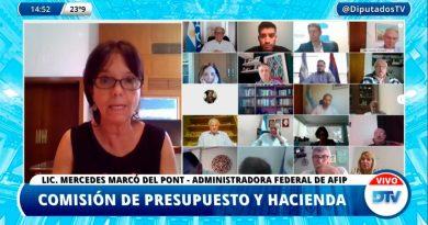 VIDEO| Mercedes Marcó del Pont destacó la «importancia y equitatividad» del Proyecto que modifica Impuesto a las Ganancias para Sociedades