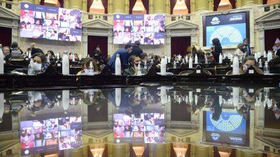 Diputados  Es Ley el Proyecto de Consenso Fiscal (Videos)
