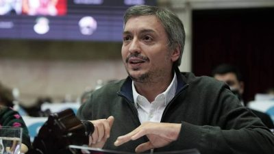 Diputados  Máximo Kirchner chicaneó a Macri al defender el Proyecto de «Zonas Frías» (Video)