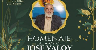 Homenaje Virtual al Pastor Tucumano José Valoy