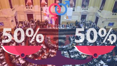 Paridad de género: En las legislativas 2021 tampoco se cumplirá 100% la Ley